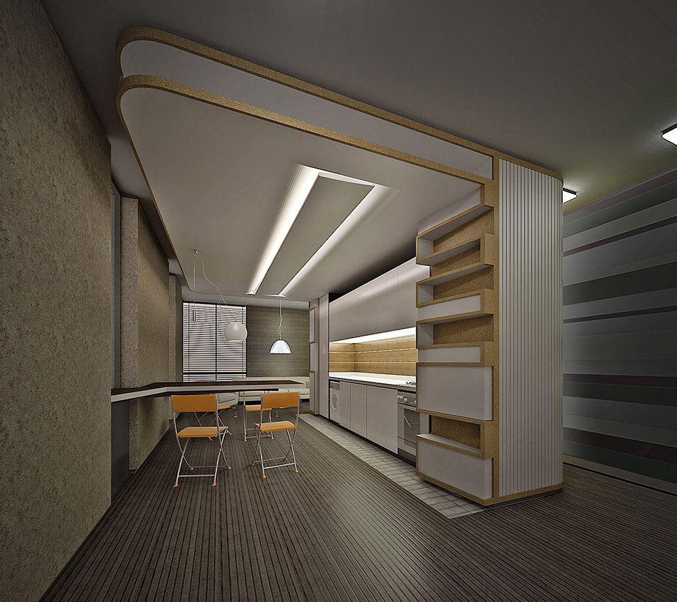 Repair the ceiling with your own hands in the apartments of a standard layout