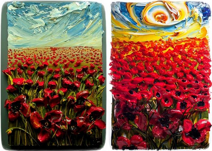 wapicte21 Краски для рисования (41 фото): какие бывают виды, выбираем на воде и масле, а также наборы, краски для рисования мелом на ткани, стенах и стекле